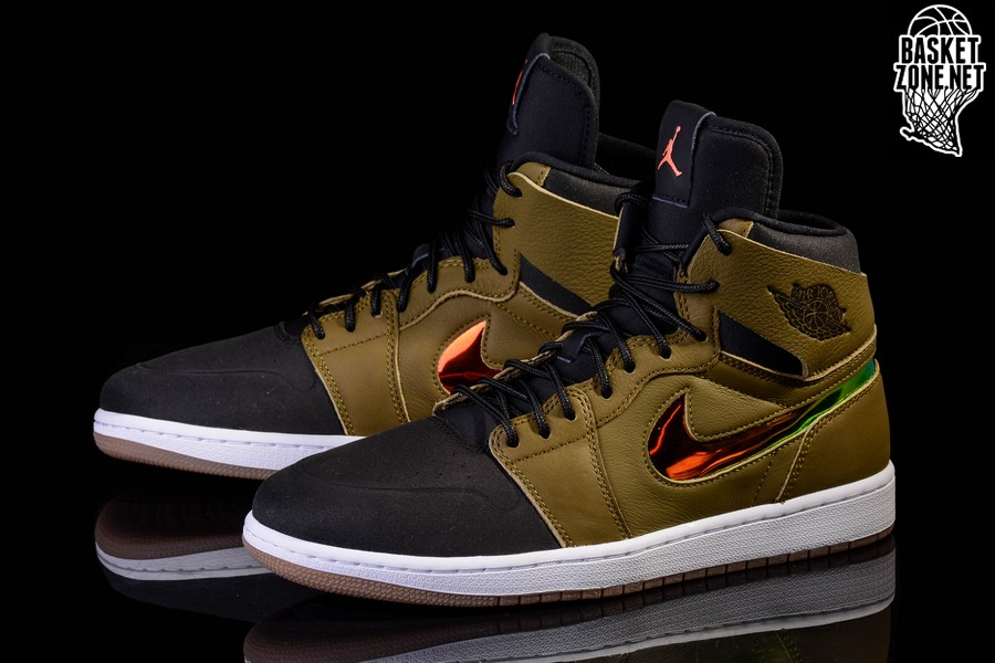 best loved 90400 036bf NIKE AIR JORDAN 1 RETRO HIGH NOUVEAU  MILITIA GREEN