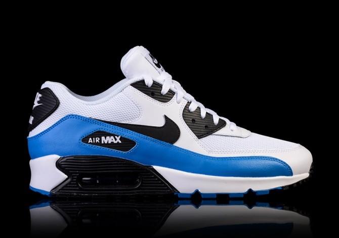 NIKE AIR MAX 90 ESSENTIAL WHITE/PHOTO BLUE