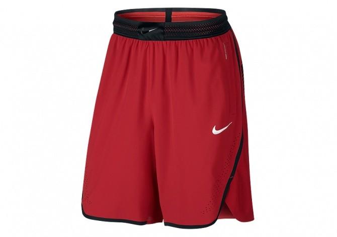 NIKE AEROSWIFT BASKETBALL SHORT UNIVERSITY RED
