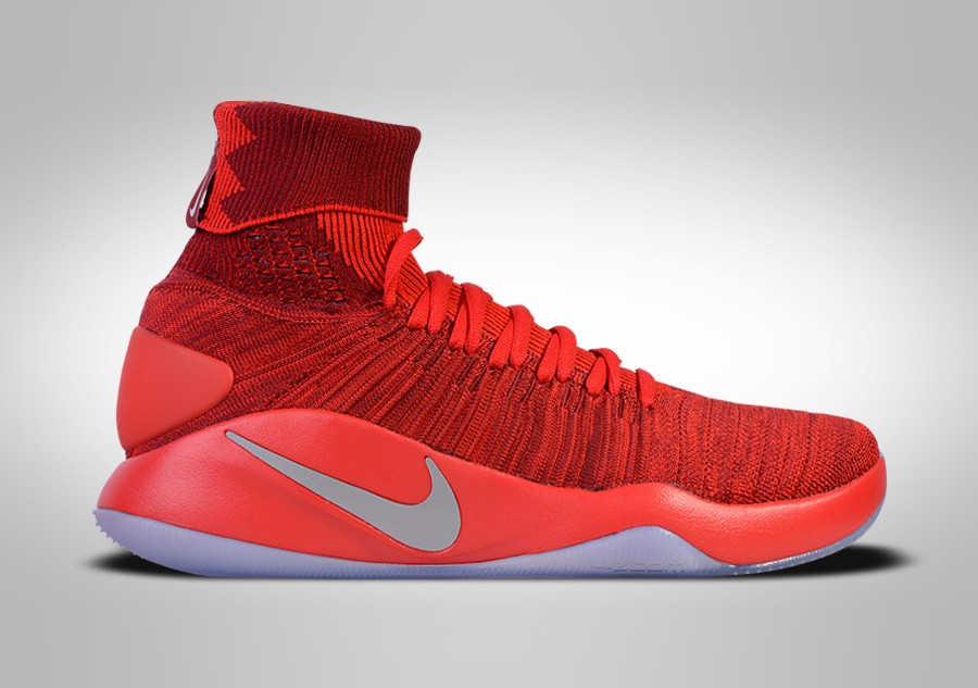low cost ff304 6f462 NIKE HYPERDUNK 2016 FLYKNIT TEAM RED