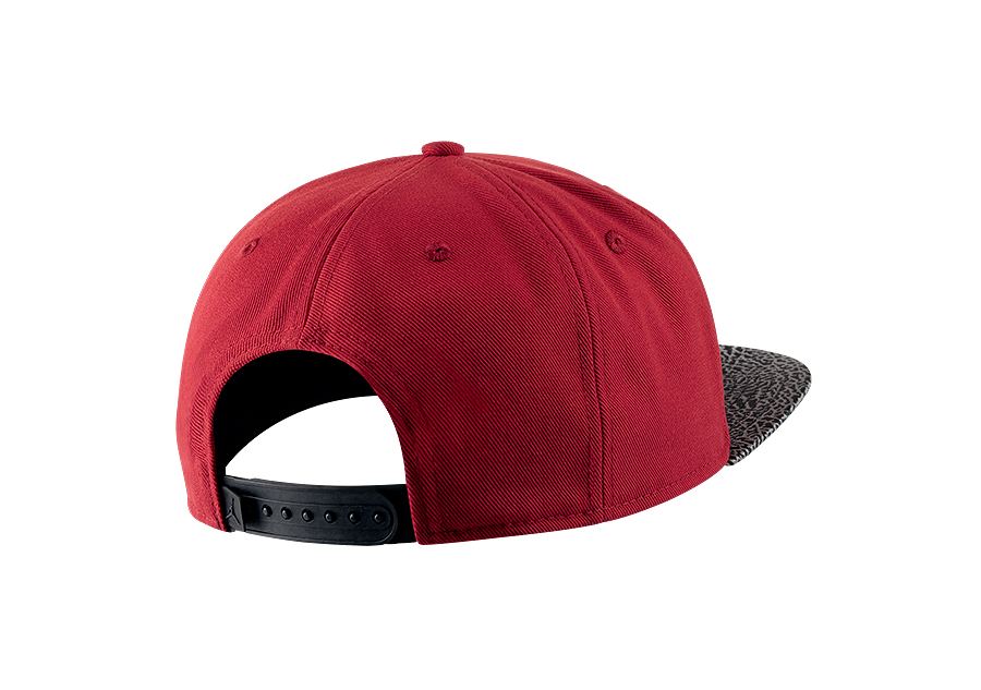 c9afc5ce ... top quality nike air jordan elephant bill snapback hat gym red db2d4  4eee9