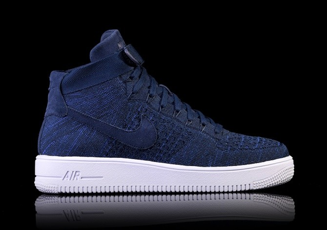 nike air force 1 flyknit high heren
