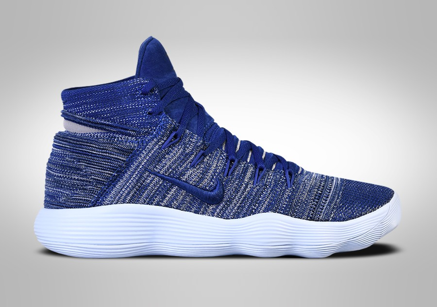 the latest 03635 24f7c ... discount code for nike hyperdunk 2017 flyknit navy blue 2e5fa ea254