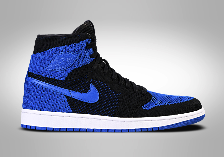 NIKE AIR JORDAN 1 RETRO HIGH FLYKNIT ROYAL BLUE Modré cena 3407 3c9b8a9b38