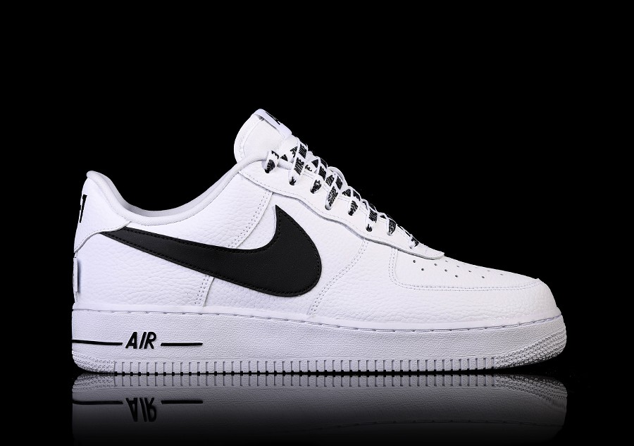 official nike air force 1 low blanco negro 115 a6bdd 2837d