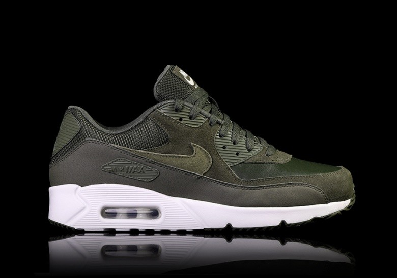 best service c5dc6 6c09d NIKE AIR MAX 90 ULTRA 2.0 LEATHER CARGO KHAKI