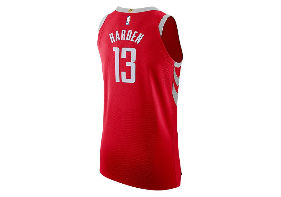 3aada28e NIKE NBA HOUSTON ROCKETS JAMES HARDEN AUTHENTIC JERSEY ROAD UNIVERSITY RED.  863023-657