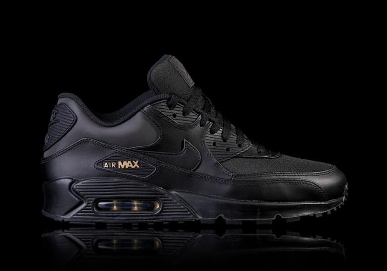 NIKE AIR MAX 90 PREMIUM BLACK