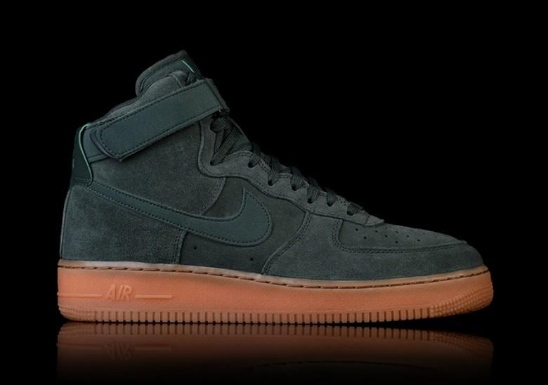 Nike Air Force 1 High '07 Lv8 Suede, Scarpe da Ginnastica