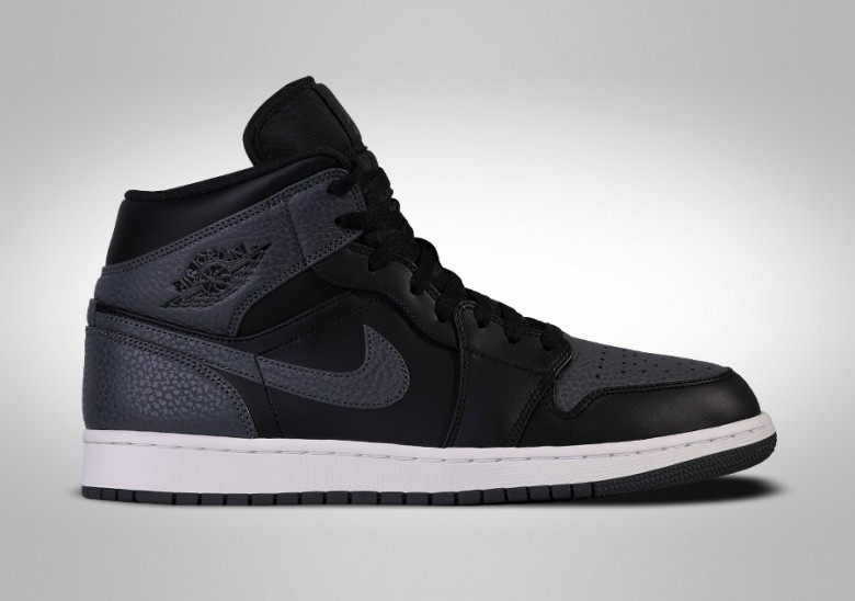 NIKE AIR JORDAN 1 RETRO MID ATTRACTIVE TUMBLED LEATHER