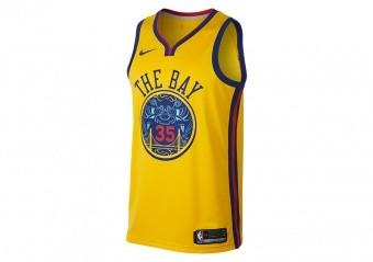 24ebc911a20 NIKE NBA KEVIN DURANT GOLDEN STATE WARRIORS CITY EDITION SWINGMAN JERSEY  AMARILLO