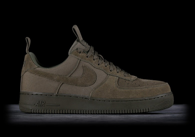 NIKE AIR FORCE 1 '07 CANVAS MEDIUM OLIVE price €92.50