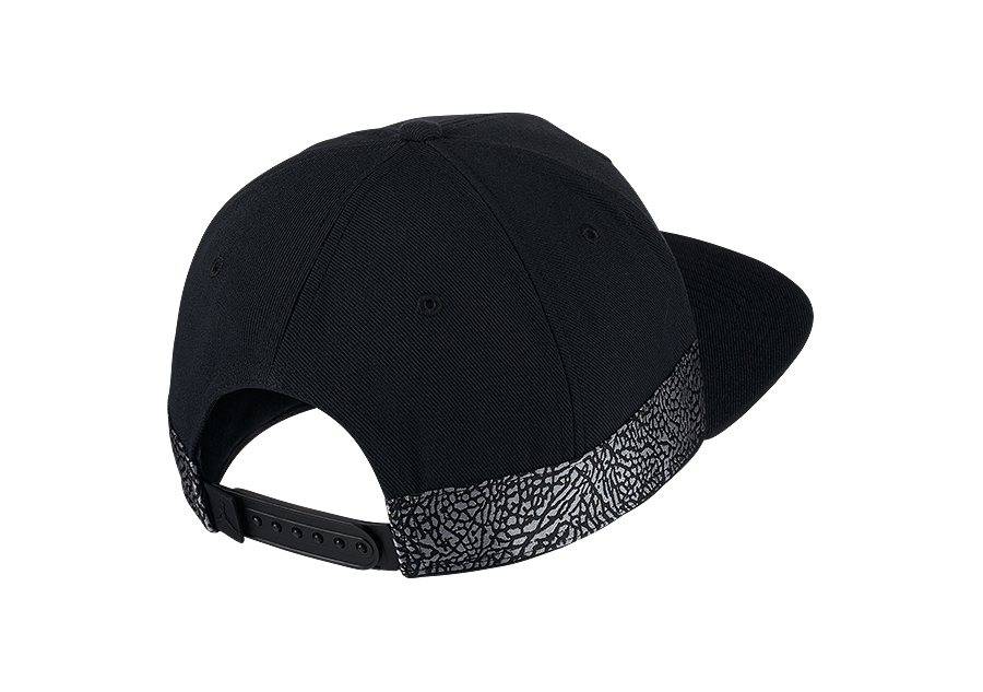 NIKE AIR JORDAN JUMPMAN PRO AJ 3 CAP BLACK price 285.00HK ... 2d9868824e10