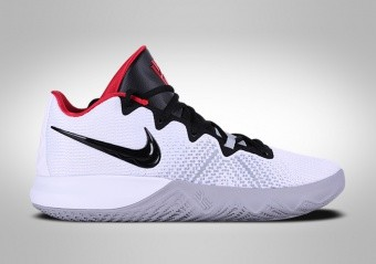 5690790cd7 BASKETBALL SHOES. NIKE KYRIE FLYTRAP WHITE BLACK UNIVERSITY RED