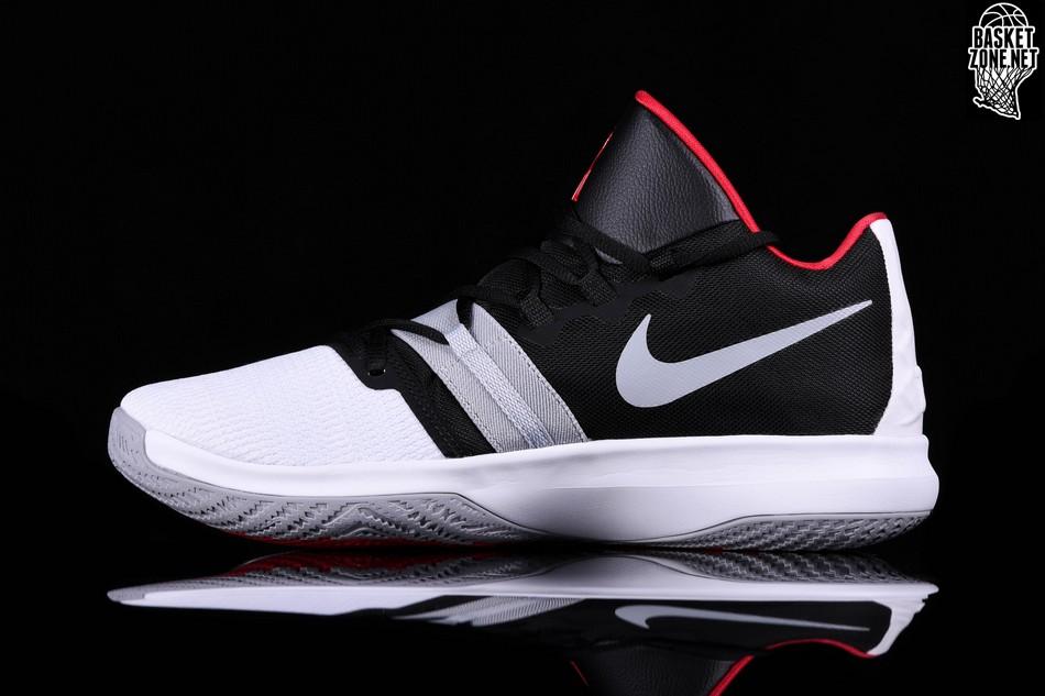 Nike Kyrie Flytrap White Black University Red Price 82 50