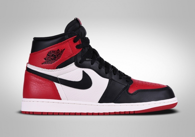 NIKE AIR JORDAN 1 RETRO HIGH OG BRED TOE