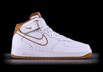 innovative design eb5a2 5c461 NIKE AIR FORCE 1 MID 07 LEATHER WHITE