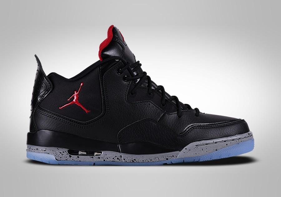 Nike Men's Jordan Courtside 23 Basketball Shoes BlackRed