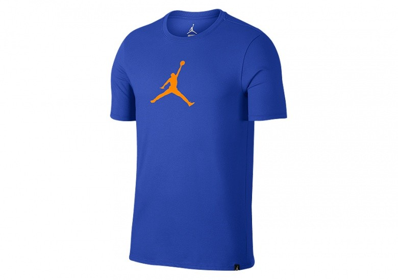 NIKE AIR JORDAN DRY 23/7 JUMPMAN BASKETBALL TEE HYPER ROYAL