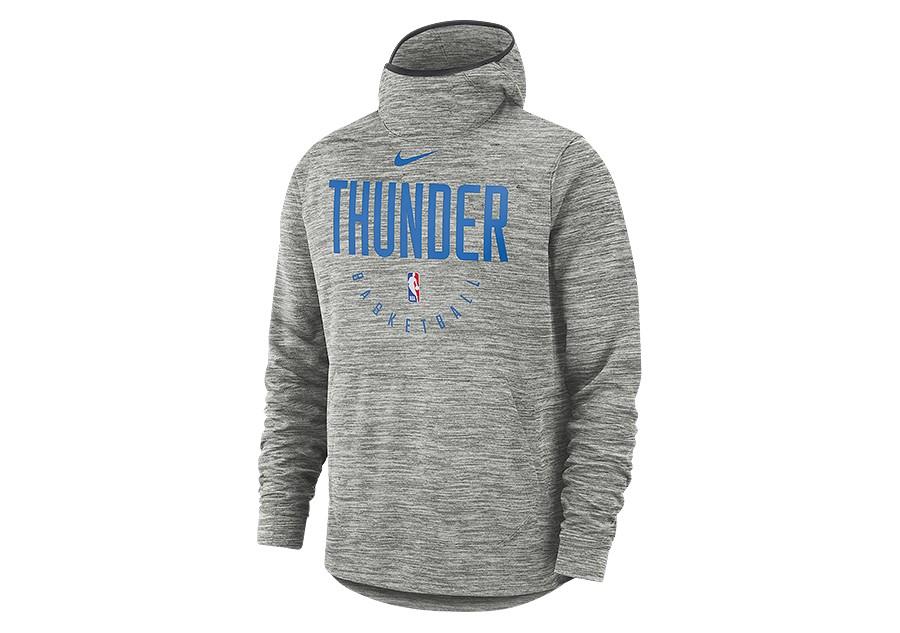 NIKE NBA OKLAHOMA CITY THUNDER SPOTLIGHT HOODIE CARBON HEATHER pour ... a4b885ec3e6
