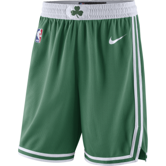 NIKE BOSTON CELTICS SWINGMAN ROAD SHORTS