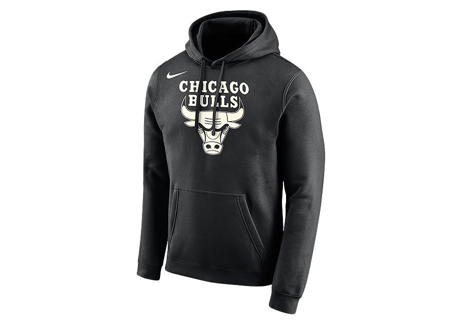 4733f669 NIKE NBA CHICAGO BULLS LOGO HOODIE BLACK price €62.50   Basketzone.net