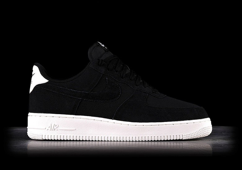 NIKE AIR FORCE 1 '07 SUEDE BLACK