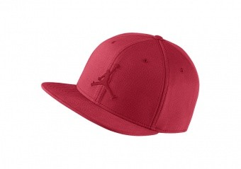 NIKE AIR JORDAN JUMPMAN SNAPBACK HAT GYM RED
