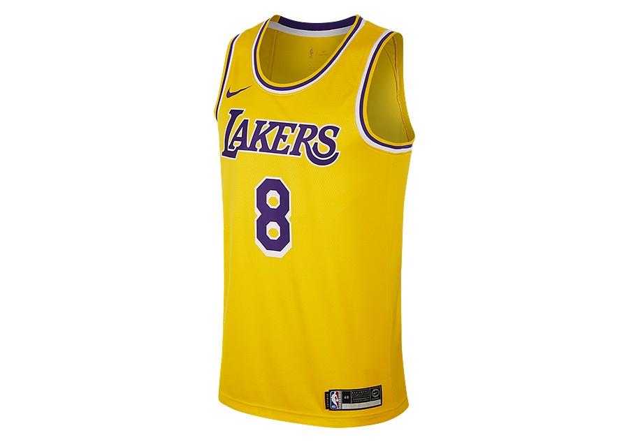 6265d0fa9c NIKE NBA LOS ANGELES LAKERS KOBE BRYANT SWINGMAN ROAD JERSEY AMARILLO price  €92.50