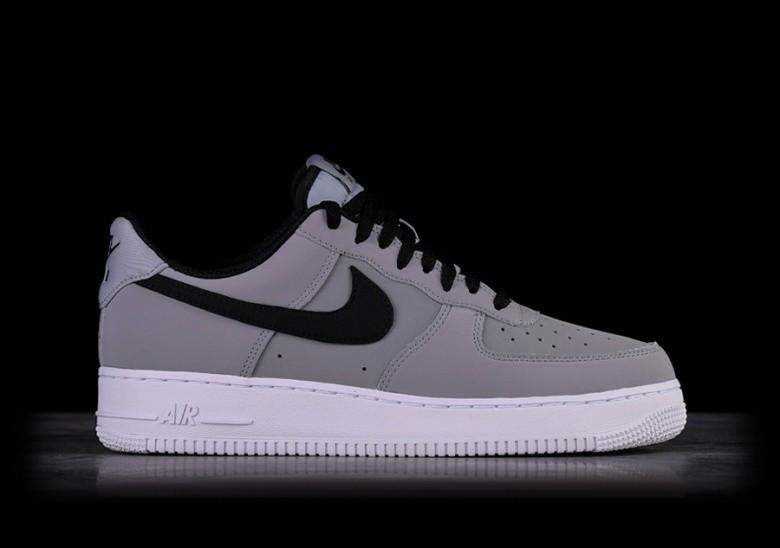 Black Force Air Grey 1 '07 Nike Per Leather DE29HYWI