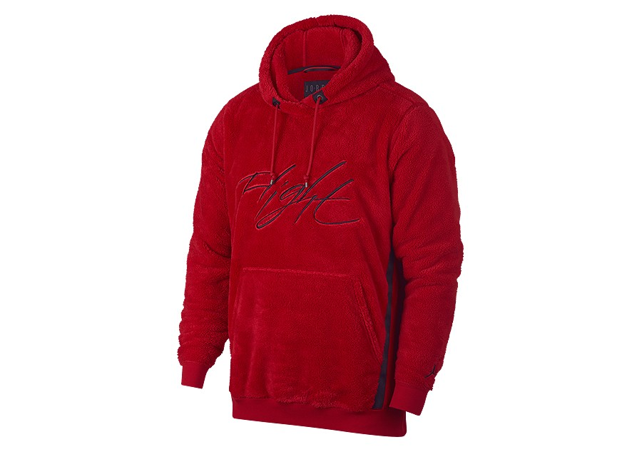 factory price 5065d d4085 NIKE AIR JORDAN SPORTSWEAR WINGS OF FLIGHT HOODIE GYM RED price €99.00    Basketzone.net