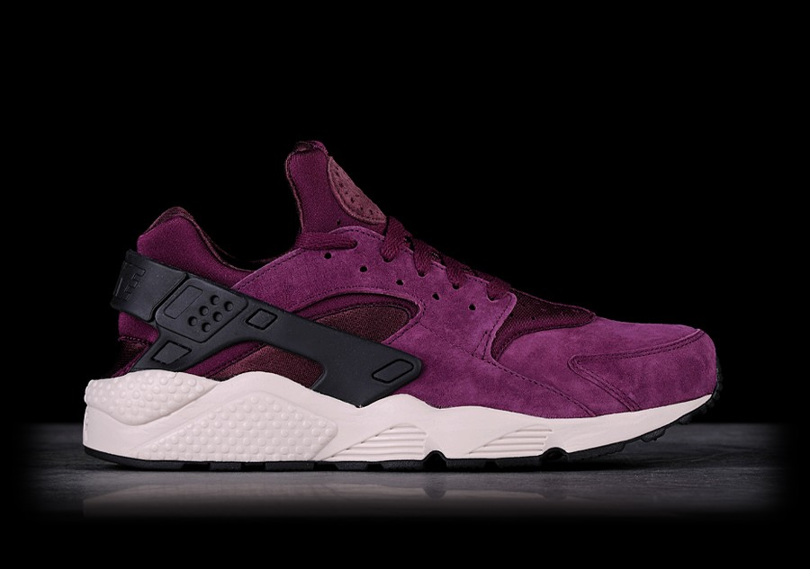 3b1ea079e8342 NIKE AIR HUARACHE RUN PRM BORDEAUX price €122.50