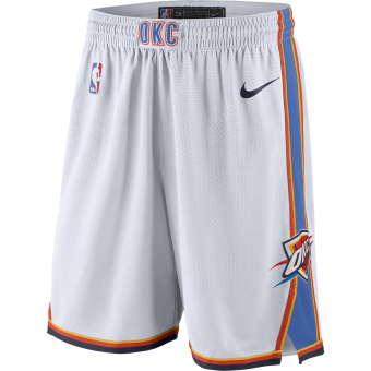 NIKE NBA OKLAHOMA CITY THUNDER SWINGMAN HOME SHORTS