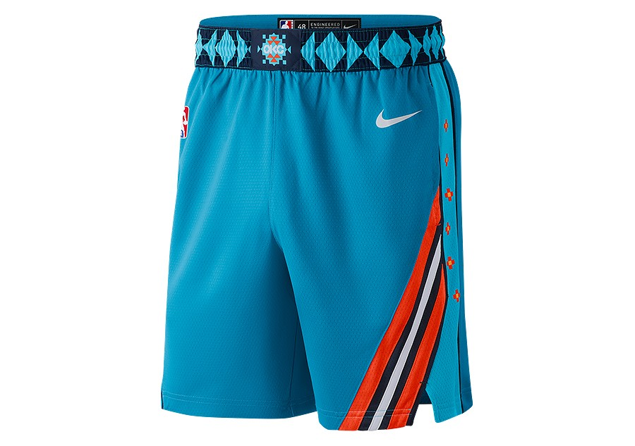 98d4d549 NIKE NBA OKLAHOMA CITY THUNDER SWINGMAN SHORTS TIDAL BLUE por €62,50 |  Basketzone.net