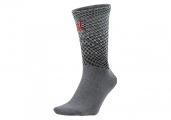 NIKE AIR JORDAN AJ10 CREW SOCKS ANTHRACITE