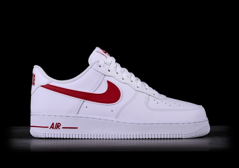 76b11a6e4bfa NIKE AIR FORCE 1 '07 WHITE GYM RED pour €95,00 | Basketzone.net