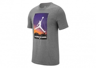 NIKE AIR JORDAN 23 TEE CARBON HEATHER