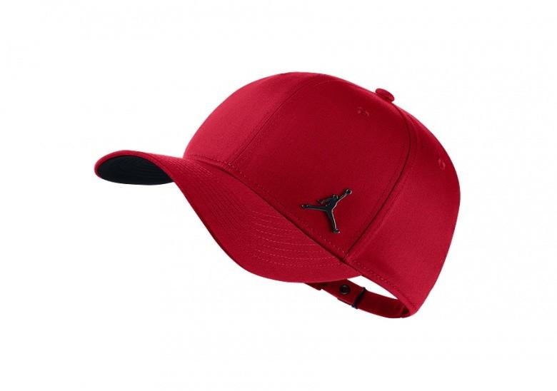 NIKE AIR JORDAN CLASSIC99 METAL JUMPMAN HAT GYM RED