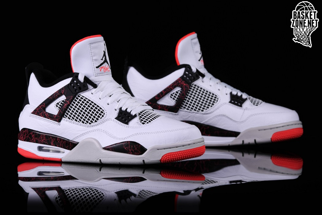 watch f13f4 315b9 NIKE AIR JORDAN 4 RETRO HOT LAVA (GS)