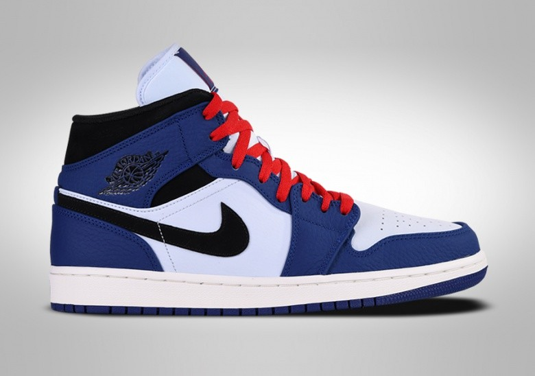 NIKE AIR JORDAN 1 RETRO MID SE DEEP ROYAL BLUE