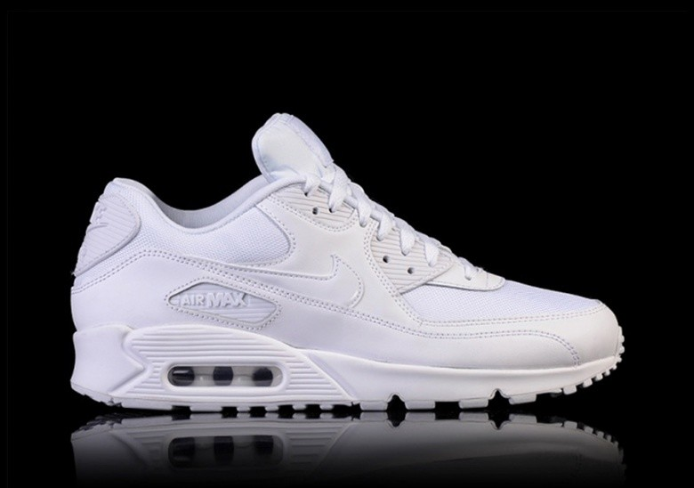 Nike Triple White Leather Air Max 95 Trainers White Buty