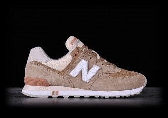 NEW BALANCE 574 HEMP WITH DESERT SAND