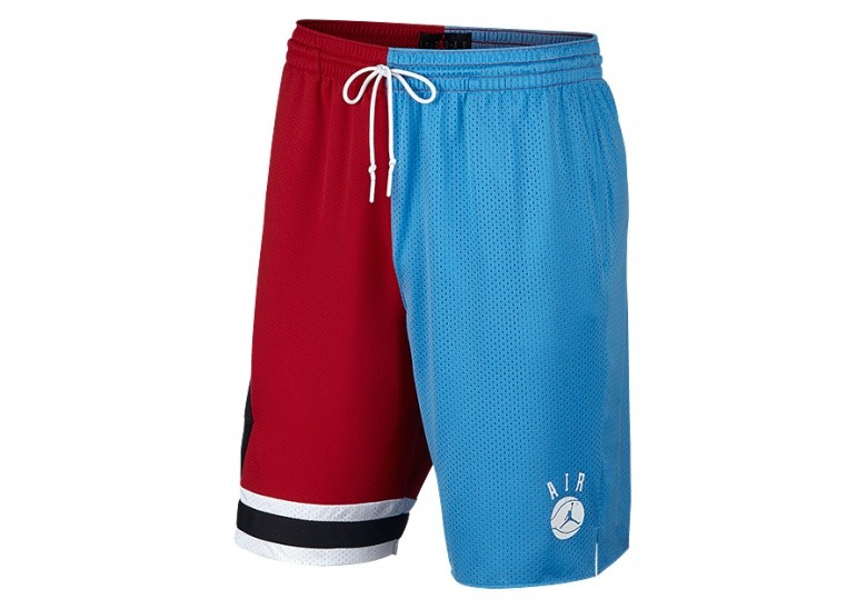 NIKE AIR JORDAN DNA DISTORTED SHORTS VALOR BLUE/UNIVERSITY RED