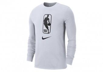 NIKE NBA TEAM 31 DRY LONG-SLEEVE TEE WHITE