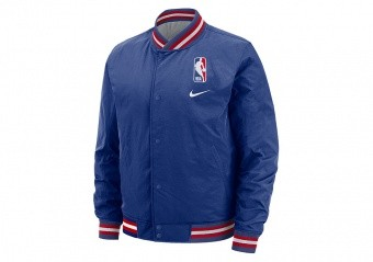 NIKE NBA N31 COURTSIDE JACKET RUSH BLUE