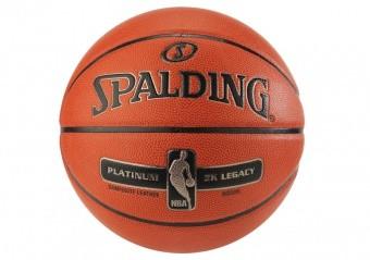 SPALDING NBA PLATINUM ZK LEGACY (SIZE 7) ORANGE