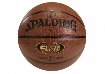 SPALDING NBA NEVERFLAT IN/OUT SIZE 7 AMBER ORANGE