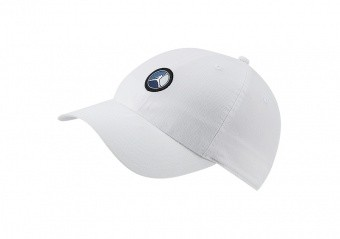 NIKE AIR JORDAN HERITAGE86 REMASTERED PATCH HAT WHITE