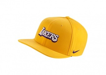 NIKE NBA PRO LOS ANGELES LAKERS CITY EDITION PRO HAT AMARILLO