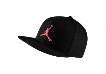 NIKE AIR JORDAN PRO JUMPMAN SNAPBACK BLACK INFRARED